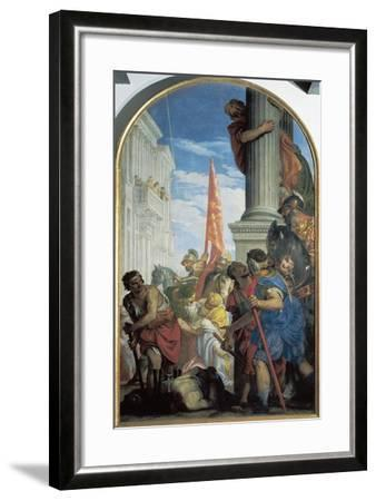 Martyrdom of Saints Primo and Feliciano, 1562-Paolo Caliari-Framed Giclee Print