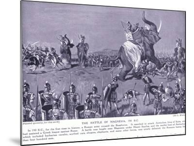 The Battle of Magnesia 190 BC-Leslie Mosley-Mounted Giclee Print