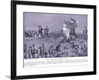 The Battle of Magnesia 190 BC-Leslie Mosley-Framed Giclee Print