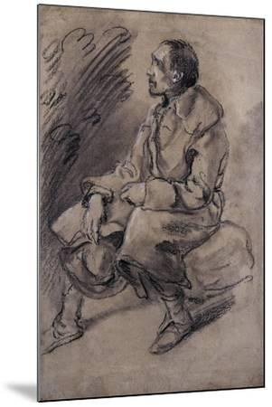 Study of a Woodman, C.1787-Thomas Gainsborough-Mounted Giclee Print