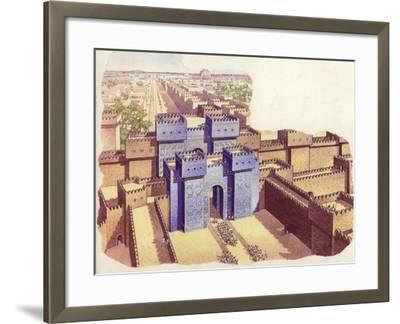 The Ishtar Gate of Babylon-Pat Nicolle-Framed Giclee Print