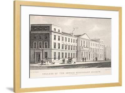 College of the Church Missionary Society-Thomas Hosmer Shepherd-Framed Giclee Print