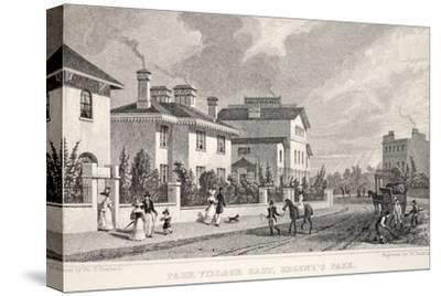 Park Village East-Thomas Hosmer Shepherd-Stretched Canvas Print