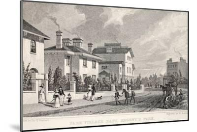 Park Village East-Thomas Hosmer Shepherd-Mounted Giclee Print