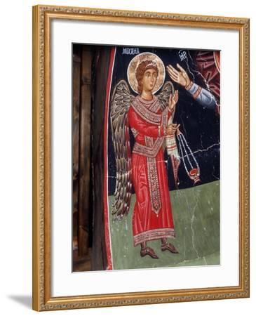 Archangel Michael, 1494-Philippos Goul-Framed Giclee Print