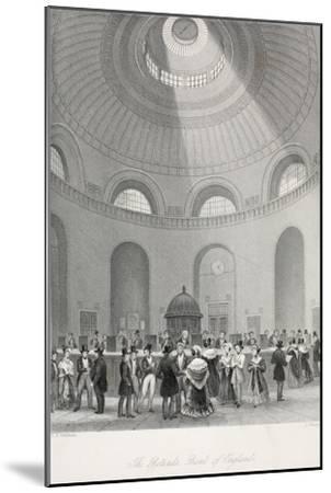 The Rotunda at the Bank of England-Thomas Hosmer Shepherd-Mounted Giclee Print
