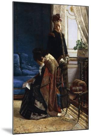 News from Afar, 1875-Pier Celestino Gilardi-Mounted Giclee Print