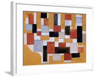 Study, 1926-Theo Van Doesburg-Framed Giclee Print