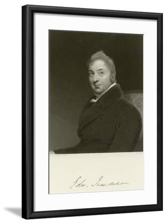 Edward Jenner-Thomas Lawrence-Framed Giclee Print