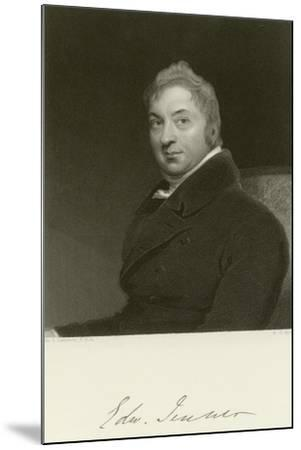 Edward Jenner-Thomas Lawrence-Mounted Giclee Print