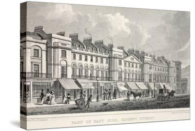 Part of the East Side, Regent Street-Thomas Hosmer Shepherd-Stretched Canvas Print