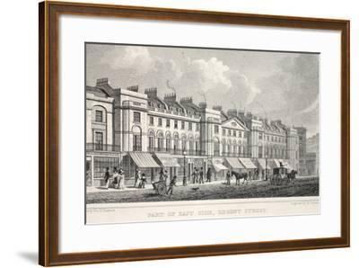 Part of the East Side, Regent Street-Thomas Hosmer Shepherd-Framed Giclee Print