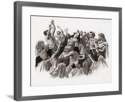 Saint Catherine Being Tortured on the Wheel-Ralph Bruce-Framed Giclee Print