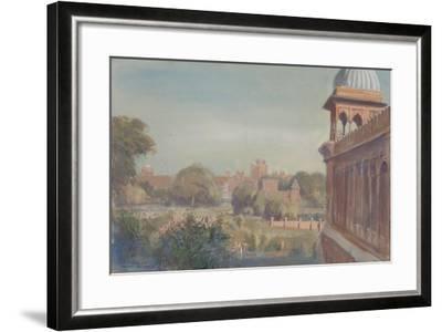 Red Fort from Jama Masjid, 2004-Tim Scott Bolton-Framed Giclee Print