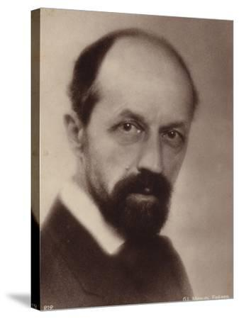 Portrait of Albert Roussel--Stretched Canvas Print