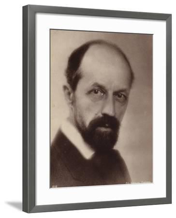 Portrait of Albert Roussel--Framed Photographic Print