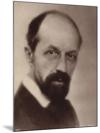 Portrait of Albert Roussel--Mounted Photographic Print