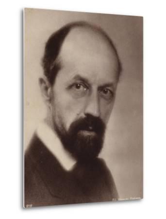 Portrait of Albert Roussel--Metal Print