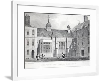 Staples' Inn-Thomas Hosmer Shepherd-Framed Giclee Print