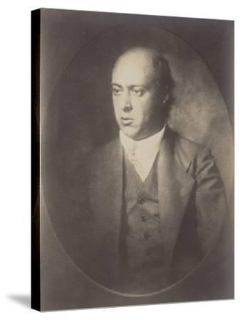 Portrait of Arnold Schoenberg--Stretched Canvas Print