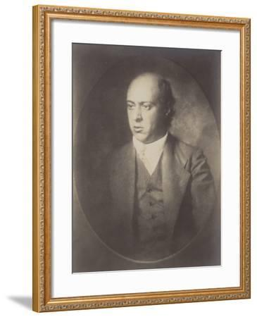 Portrait of Arnold Schoenberg--Framed Premium Photographic Print