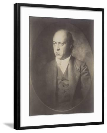 Portrait of Arnold Schoenberg--Framed Photographic Print