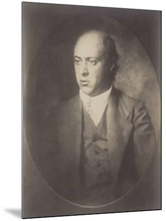 Portrait of Arnold Schoenberg--Mounted Photographic Print