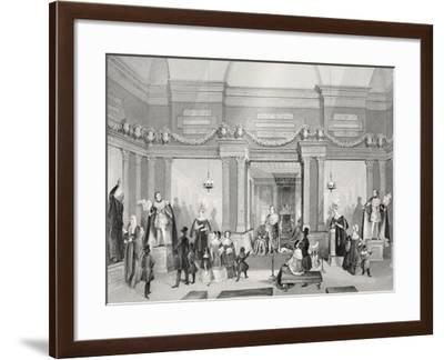 Madame Tussaud's Exhibition of Wax-Work-Thomas Hosmer Shepherd-Framed Giclee Print