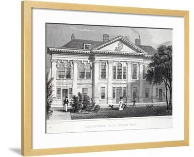 Carpenter's Hall-Thomas Hosmer Shepherd-Framed Giclee Print
