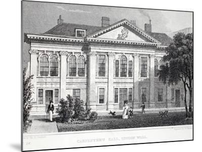 Carpenter's Hall-Thomas Hosmer Shepherd-Mounted Giclee Print