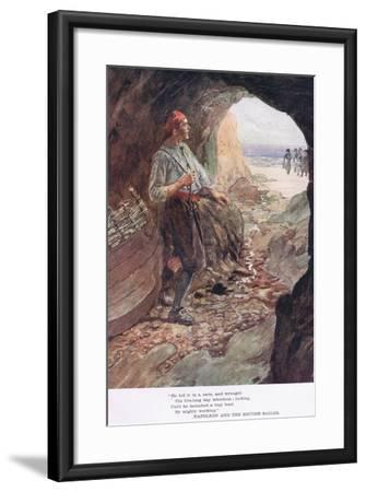 He Hid it in a Cave-William Rainey-Framed Giclee Print