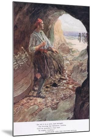 He Hid it in a Cave-William Rainey-Mounted Giclee Print