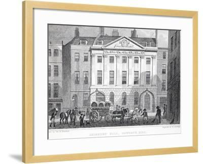 Skinner's Hall-Thomas Hosmer Shepherd-Framed Giclee Print