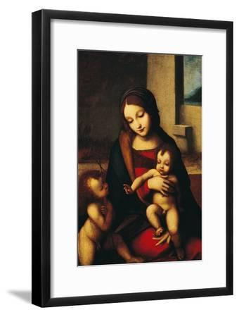 Italy, Rome, Madonna and Child with the Infant Saint John--Framed Giclee Print