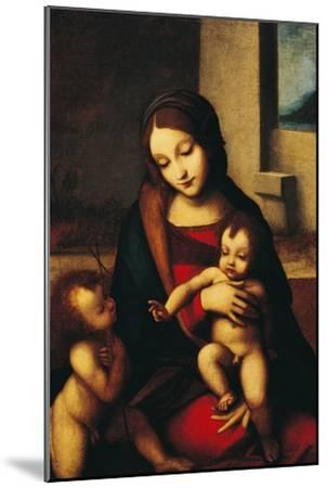 Italy, Rome, Madonna and Child with the Infant Saint John--Mounted Giclee Print