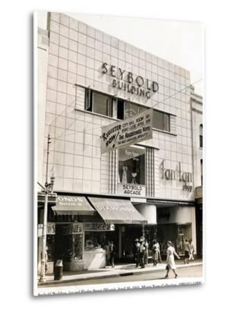 Seybold Building, 1st and Flagler Street, Miami, 20 April 1941--Metal Print