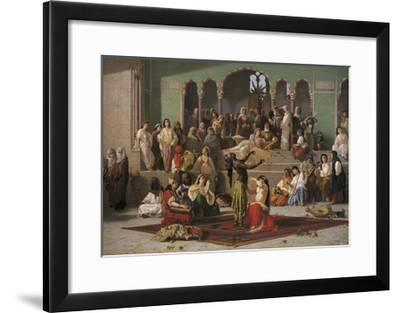 The Bees Dance, 1862-Vincenzo Marinelli-Framed Giclee Print