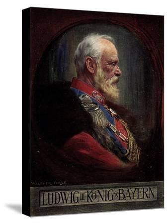 Künstler Firle, W., Ludwig III, König Von Bayern--Stretched Canvas Print