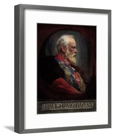 Künstler Firle, W., Ludwig III, König Von Bayern--Framed Giclee Print