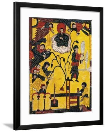 Harvest and Eschatological Harvest--Framed Giclee Print