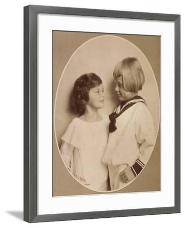 Prinzessin Stefanie, Prinz Rudi, Windisch Graetz--Framed Giclee Print