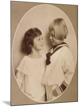 Prinzessin Stefanie, Prinz Rudi, Windisch Graetz--Mounted Giclee Print