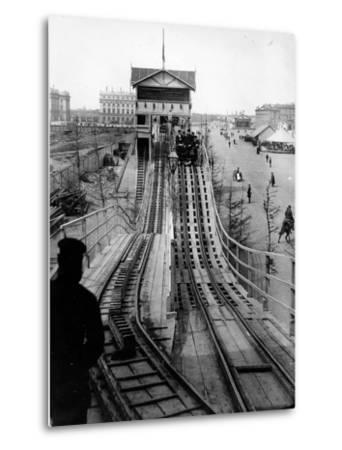 A Switchback Ride, St Petersburg, Early C20th--Metal Print