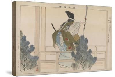Tomoe, 1901-Tsukioka Kogyo-Stretched Canvas Print