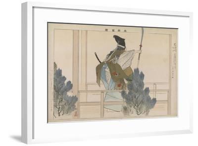 Tomoe, 1901-Tsukioka Kogyo-Framed Giclee Print