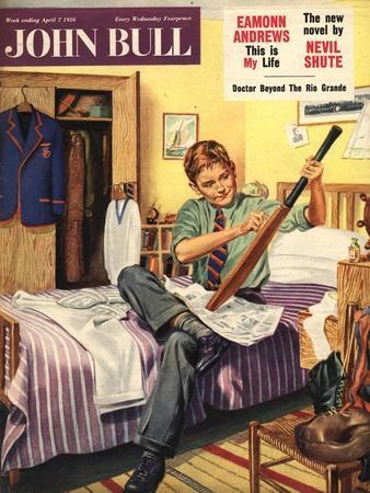 Front Cover of 'John Bull', April 1956--Framed Giclee Print