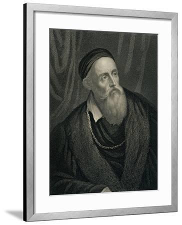 Titian--Framed Giclee Print