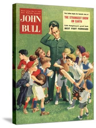 Front Cover of 'John Bull', May 1957--Stretched Canvas Print