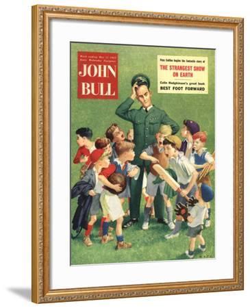 Front Cover of 'John Bull', May 1957--Framed Giclee Print