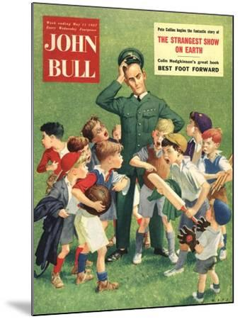 Front Cover of 'John Bull', May 1957--Mounted Giclee Print